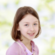 Smiling charming girl. — Stock Photo #49155933