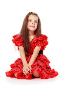 Sweet, beautiful little girl — Stock Photo