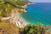 Mylopotamos beach, Pelio, Thessaly, Greece — Stock Photo