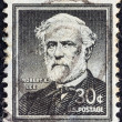 "USA - CIRCA 1954: A stamp printed in USA from the ""Liberty"" issue shows General of the Confederate Army Robert Edward Lee, circa 1954. — Stock Photo"