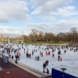 Stock Photo: City Park ice rink , Budapest, Hungary