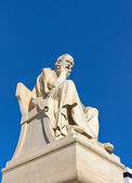 Socrates, Academy of Athens, Greece — Stock Photo