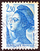 FRANCE - CIRCA 1982: A stamp printed in France shows Liberte of Delacroix, circa 1982. — Stock Photo
