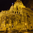 Saint Stephen basilica night view, Budapest, Hungary — Stock Photo