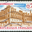 "FRANCE - CIRCA 1967: A stamp printed in France from the ""tourism"" issue shows Saint-Germain-en-Laye, circa 1967. — Stock Photo"