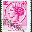 Royalty-Free Stock Photo: ITALY - CIRCA 1953: A stamp printed in Italy from the \