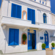 Beautiful cycladic architecture in Kimolos island, Cyclades, Greece — Stock Photo