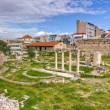 View of Ancient Agorof Athens, Greece — Stock Photo #13225111