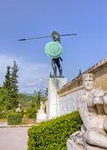 Leonidas monument, Thermopylae, Greece — Stock Photo