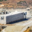 Storage facility of a mining industry — Stock Photo