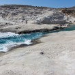 Stock Photo: Sarakiniko beach, Milos island, Cyclades, Greece