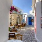 Plaka village, Milos island, Cyclades, Greece — Stock Photo #13599918
