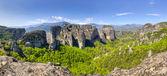 Meteora panorama, Thessaly, Greece — Stock Photo