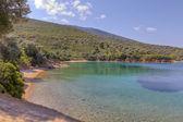 Tzasteni 海滩,pelio,色萨利希腊 — 图库照片