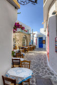 Plaka village, Milos island, Cyclades, Greece — Stock Photo