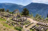 Sanctuary of Athena Pronaia, Delphi, Greece — Stock Photo