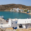 Stock Photo: Panoramof Psathi harbor, Kimolos island, Cyclades, Greece
