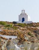 Церковь Агия Варвара, Кимолос остров, Киклады, Греция — Стоковое фото