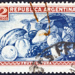 ARGENTINA - CIRCA 1936: A stamp printed in Argentina shows various fruits, circa 1936. — Stock Photo