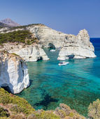 Kleftiko, Milos island, Cyclades, Greece — Stock Photo