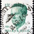 BELGIUM - CIRCA 1982: A stamp printed in Belgium shows King Baudouin, circa 1982. — Stock Photo #17818675