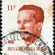 BELGIUM - CIRCA 1982: A stamp printed in Belgium shows King Baudouin, circa 1982. — Stock Photo #17818737