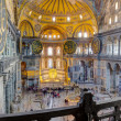 Hagia Sophia interior, Istanbul, Turkey — Stock Photo #18177833