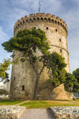 White Tower (Lefkos Pyrgos), Thessaloniki, Macedonia, Greece — Stockfoto
