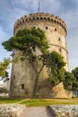 White Tower (Lefkos Pyrgos), Thessaloniki, Macedonia, Greece — Stock Photo