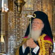 Bartholomew I, Ecumenical Patriarch of Constantinople — Stock Photo