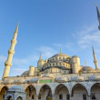Blue mosque (Sultan Ahmed Mosque), Istanbul, Turkey — Stock Photo #18265251