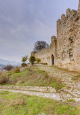 Platamon Castle, Pieria, Greece — Stock Photo