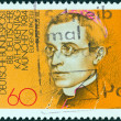 GERMANY - CIRC1984: stamp printed in Germany issued for 88th GermCatholics Congress, Munich, shows Eugenio Pacelli (Pope Pius XII), circ1984. — Stock Photo #19457993