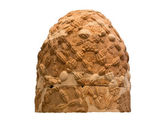 The Omphalos stone from Delphi, Greece, isolated — Stock Photo
