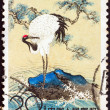 CHINA - CIRCA 1961: A stamp printed in China shows a Red-Crowned Crane, circa 1961. - Stock Photo
