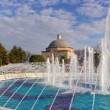Haseki Hurrem Sultan Hamami and fountain, Istanbul, Turkey - Stock Photo