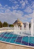 Haseki Hurrem Sultan Hamami and fountain, Istanbul, Turkey — Stock Photo