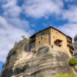 Stock Photo: St. Nicholas Anapausas monastery, Meteora, Greece