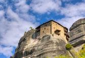 Monasterio de san nicolás anapausas, meteora, grecia — Foto de Stock