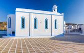 Agia Paraskevi church, Milos island, Cyclades, Greece — Stock Photo