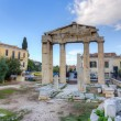 Remains of west gate into RomForum of Athens, Greece — Stock Photo #21982735
