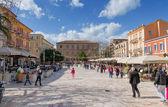 Plateia Syntagmatos (Constitution Square), Nafplio, Greece — Stock Photo