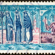 TUNISIA - CIRCA 1959: A stamp printed in Tunisia shows Djerba island, circa 1959. — Stock Photo