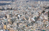 Dense residential area in Athens, Greece — Stock Photo