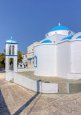 Theoskepasti kapell, kimolos island, kykladerna, grekland — Stockfoto