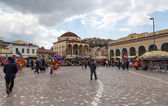 Monastiraki square, Athens, Greece — Stock Photo