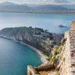 View from Palamidi fortress, Nafplio, Greece — Stock Photo #23167900