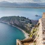 View from Palamidi fortress, Nafplio, Greece — Stock Photo #23167900