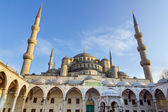 Blue mosque (Sultan Ahmed Mosque), Istanbul, Turkey — Stock Photo
