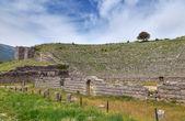 Ancient theatre of Dodoni, Epirus, Greece — Stock Photo